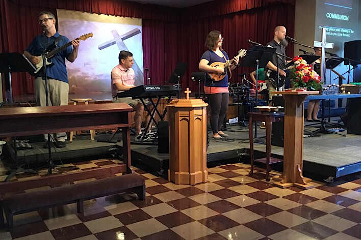 ENGAGE Band Rehearsal